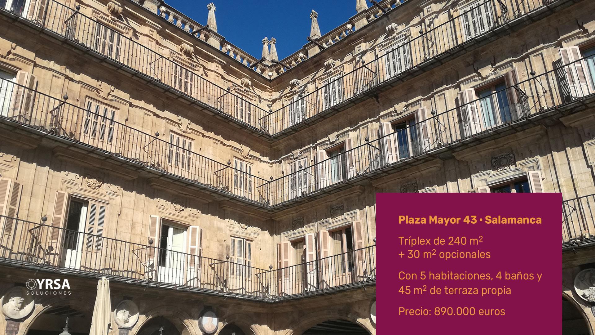 11 OYRSA Proyectos en venta 13 Plaza Mayor 43